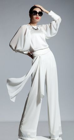 White Elegance Outfits Cool Diva Fashion Pure