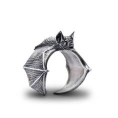 Elfin New Vintage Adjustable Bat Rings Fashion Cute Bat Jewellery Bradypus Ring For Women Men Anillos Mujer Warcraft. Product ID: Gothic Accessories, Jewelry Accessories, Fashion Accessories, Cute Jewelry, Jewelry Rings, Jewellery, Vintage Rings, Vintage Jewelry, Fashion Rings