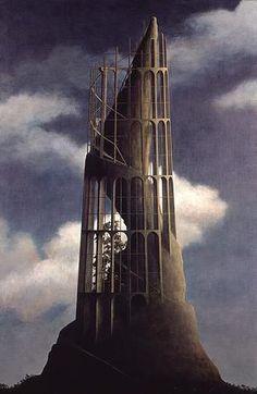 "Paintings / ""Nowhere-5"", 1993   Minoru Nomata"