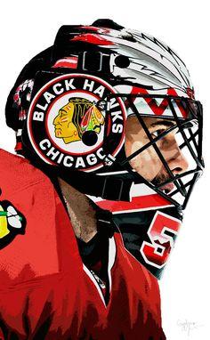 Corey Crawford Chicago Blackhawks …