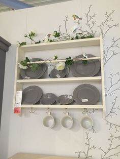Wall dresser Stenstorp £40. I also really like the flowers entwined around it Ikea, Dresser, Lowboy, Ikea Co, Chest Of Drawers, Dresser Top, Credenza, Dressers, Tack Box