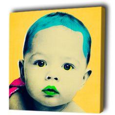 Baby Art with a Pop Art flavor.