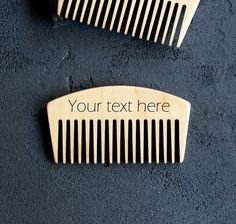 Beard Comb Personalized Wood Engraved Comb Men Gift for Him Hair comb Mustache Dad Father gift Men grooming kit Beard balm oil Pocket comb    Welcome! We are really happy to see you in our new shop.  ✓ This comb you can use for hair, beard and mustache. It's a great gift or souvenir for your loved ones and for yourself and not only for Christmas/Birthday/Anniversary, you can present it at any time, when you want to surprise somebody.  ✓ The comb can be engraved with anything you wou...