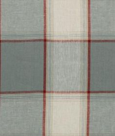 Robert+Allen+Vintage+Plaid+Chambray+Fabric