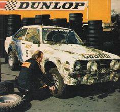 Bjorn Waldegaard - Claes Billstam 29th 1000 Lakes Rally 1979 (Ford Escort RS MkII)