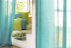 Sencillos detalles decorativos para las cortinas. http://ideasparadecoracion.com/sencillos-detalles-decorativos-para-las-cortinas/