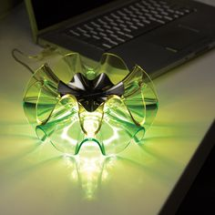 Lovely A U0027flamencau0027 Table Light In Green. It Looks Like Swirling Ruffled Skirts And Ideas