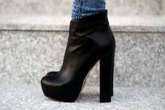 I like chunky heels