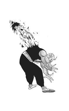 : Photo, Photo Dragon Ball is a Japanese manga series written and illustrated by Akira Toriyama. Originally serialized in Weekly Shōnen Jump magazine from Dragon Ball Gt, Manga Art, Manga Anime, Goku Manga, Goku Wallpaper, Kid Goku, Animes Wallpapers, Illustration, Sketches
