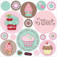 ¡Mirá nuestro producto! Si te gusta podés ayudarnos pinéandolo en alguno de tus tableros :) Sweet T, Kit, Scrap, Girl Bedding, Clip Art, Kids Rugs, Cartoon, Cupcake, Education
