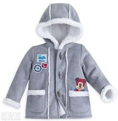 ae6f2f30e Disney Store Mickey Mouse Fall/Winter Coat - Baby Boy Jacket 12-18M