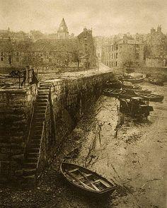 Edinburgh 1920 Old Pier, Queensferry