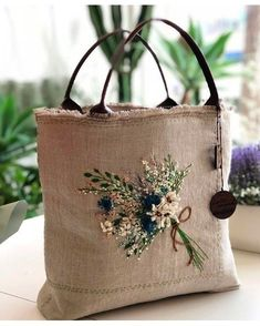 VK is the largest European social network with more than 100 million active users. Embroidery Purse, Silk Ribbon Embroidery, Hand Embroidery Designs, Jute Bags, Burlap Bags, Fabric Bags, Quilted Bag, Embroidery Techniques, Handmade Bags