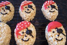 pirate rice krispie treats