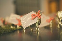 gilded golden animals | 10 Wedding Trends That Just Dont Know They're Trends Yet | Storyboard Wedding http://www.storyboardwedding.com/why-it-works-wednesday-10-wedding-trends/