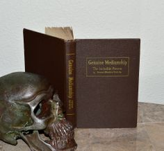 Genuine Mediumship The Invisible Powers  Antique by CosmicLibrary, $177.00