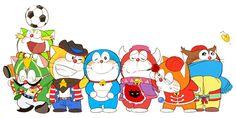 ドラえもんズ Doraemons「友情っていいね」/「ばん」のイラスト [pixiv]