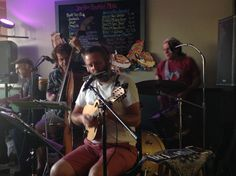 The Ripple Effect brought their cool new groove to the Java Haus on Friday 8/7