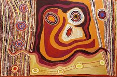 Mick Wikilyiri, Wanampi-Water or Rainbow Snake, acrylic on linen, 153 x 102 cm. Tjala Arts. For more Aboriginal art visit us at www.mccullochandmcculloch.com.au #aboriginalart #australianart #contemporaryart