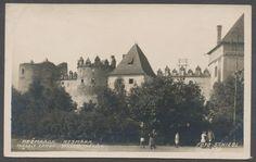 Slovensko, Spiš, Kežmarok, Kežmarský zámok, foto Schlebl, cca 1920POHLEDNICE - Ansichtskarten
