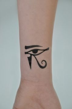 Eye Of Horus Temporary Tattoo Evil Eye Small by JoellesEmporium
