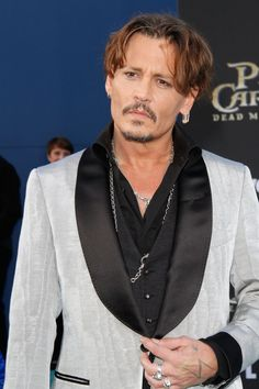 - Johnny Depp at the 'Pirates Of The Caribbean: Dead Men Tell No Tales' Premiere in Hollywood.