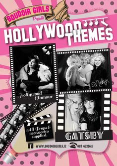Hen party ideas, Hollywood party, Gatsby party, vintage party, vintage glamour Themes available with us at boudoir girls !  Irelands original 'photoshoot party' provider and Hen party specialists .