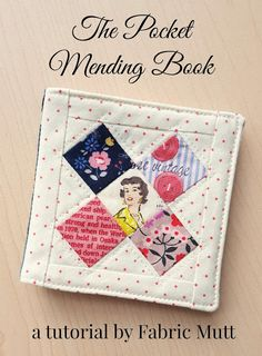 What better way to celebrate the start of another Christmas season than with a new tutorial! I've spent the past week sewing up a handful of these little books which I first shared with you here, and