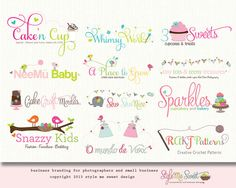 Custom Logo Design By Style Me Sweet Design - Two Concept Branding