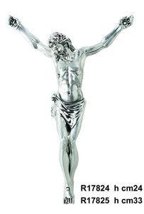 Srebrna figurka Jezusa Chrystusa, stanowi doskonały prezent z okazji jubileuszu. #rocznica #komunia #bierzmowanie