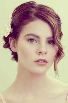 25 Short Wedding Hairstyles | 2013 Short Haircut for Women