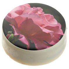 Pink Rose Chocolate Covered Oreos Chocolate Dipped Oreo