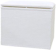 Lamont Limited Barrington Bench Hamper 185 by 1225Inch White -- Visit the image link more details.