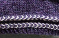Latvialainen palmikko   Meillä kotona Knitted Hats, Knitting Patterns, Accessories, Socks, Dots, Knit Patterns, Sock, Knitting Stitch Patterns, Stockings