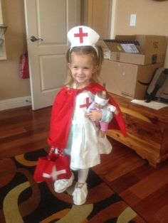 A Cute Nurse Costumes For Kids | Costumepedia.com