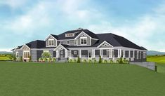 Craftsman home with Spectacular Master Suite - 77636FB | Architectural Designs - House Plans