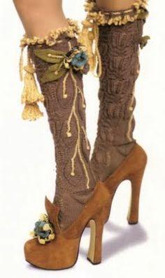 Vivienne Westwood heels & socks