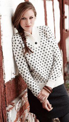 Strikket sweater i smart og tidløst design | Familie Journal