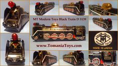 TOMS TECH TOYS: TRAINS LOCOMOTIVES Tech Toys, Made In Japan, Locomotive, Trains, Toms, Modern, Trendy Tree, Locs, Train