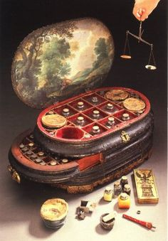 Images from the History of Medicine (NLM): 16th century medicine chest