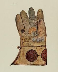 HENRY THE VIII's HAWKING GLOVE - BRITISH ROYAL COLLECTION
