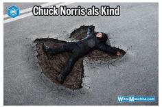 Funny pictures about Chuck Norris as a child. Oh, and cool pics about Chuck Norris as a child. Also, Chuck Norris as a child. Memes Super Graciosos, Chuck Norris Memes, I Love To Laugh, Just For Laughs, The Funny, Pikachu, Pokemon, Funny Pictures, Comedy Pictures