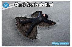 Chuck Norris Witze - Chuck Norris als Kind - Betonengel