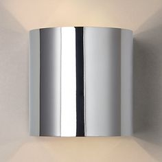 Buy John Lewis Beem Wall Light, Chrome Online at johnlewis.com