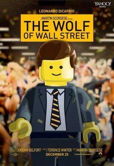 The Wolf of Wall Street ¡En versión Lego!