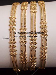 Plain Gold Bangles, Gold Bangles For Women, Gold Bangles Design, Gold Jewellery Design, Gold Jewelry, Gold Necklace, Jewelry Design Earrings, Gold Earrings Designs, Ring Designs