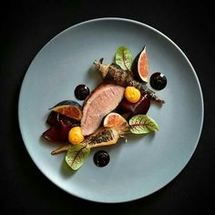 - Duck, parsnip, figs, beets, pumpkin