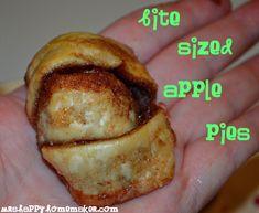 Mrs Happy Homemaker: Bite Sized Apple Pies {5 Ingredients} { Mrs Happy Homemaker }
