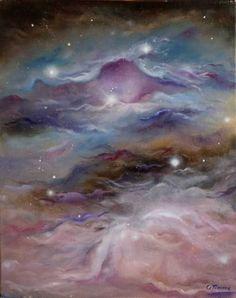 """Saatchi Art Artist Olga Timms; Painting, """"Orion Nebula"""" #art"""