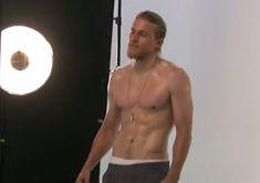 Charlie Hunnam's Men's Fitness Cover Shoot | Video | POPSUGAR Celebrity